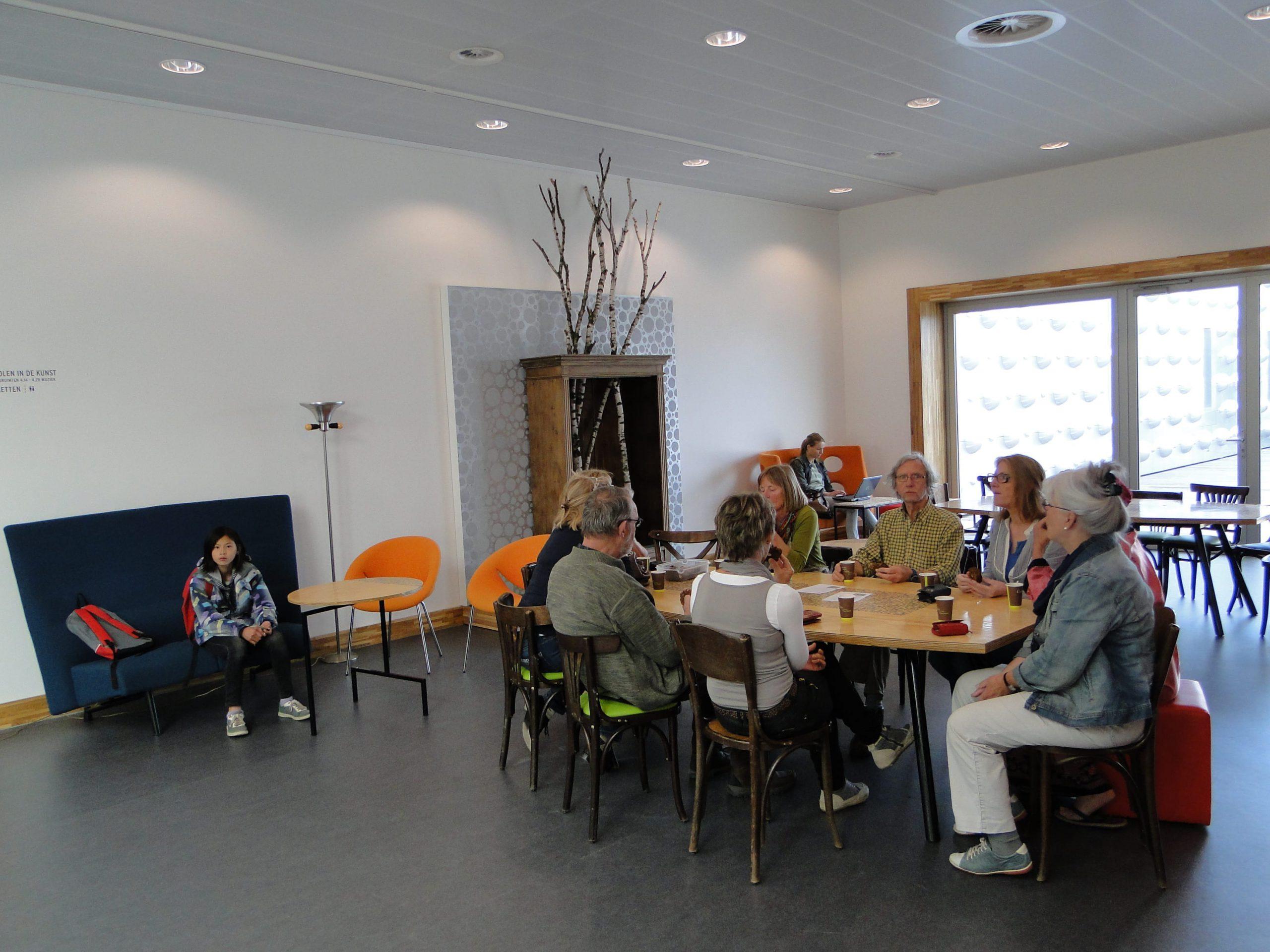 vergaderhoekje in het MFA Eemhuis in Amersfoort