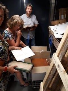 overdracht archief SFA aan archief Eemland