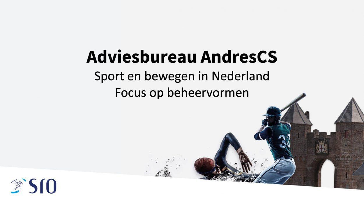 Presentatie: Sport en bewegen in Nederland - Focus op beheervormen-0