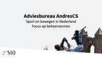 Presentatie: Sport en bewegen in Nederland - Focus op beheervormen