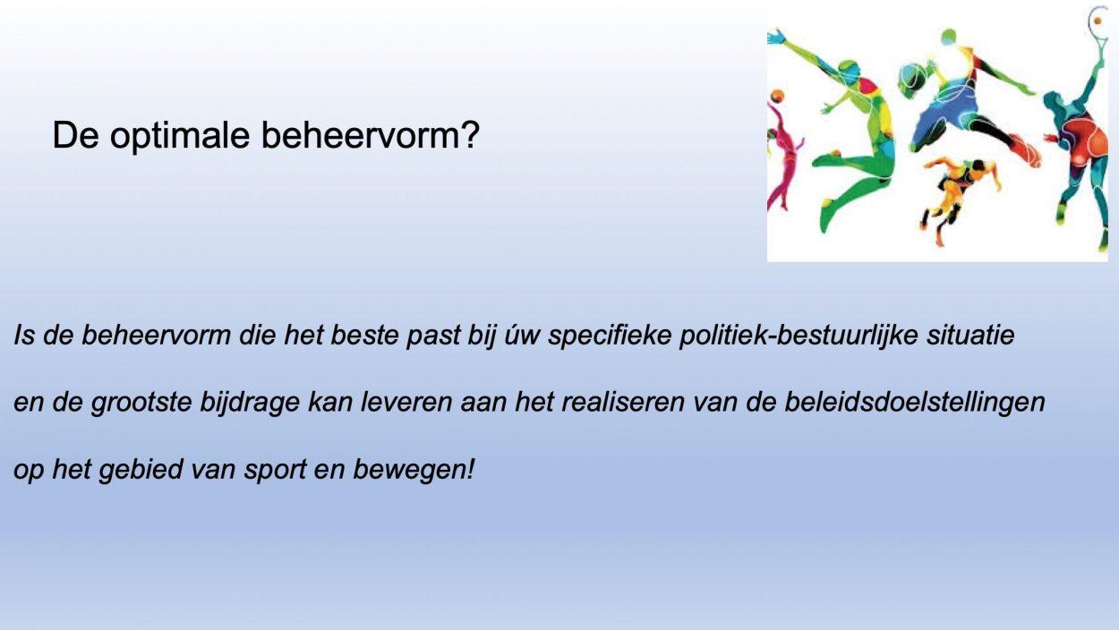 Presentatie: Sport en bewegen in Nederland - Focus op beheervormen-9