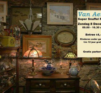 Van Aerle Super Snuffel Markt zondag 8 december