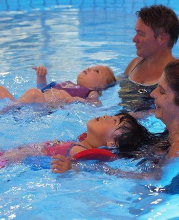 Oefenuurtje zwemleskinderen